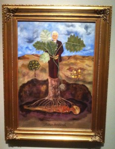 Frida Kaho's portrait of Luther Burbank