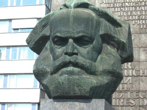Karl Marx's head was never here