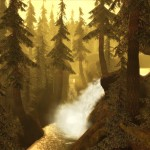 dragon-age-origins-screenshot-forest-waterfall